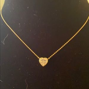 Melinda Maria Gold Plated with CZ Stone Necklace